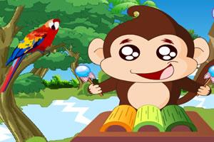 小猴打击乐