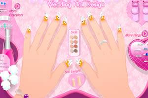 婚礼彩甲设计师