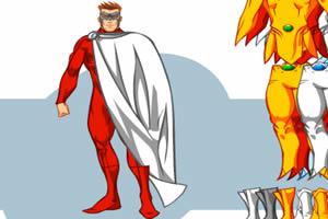 X-man换装