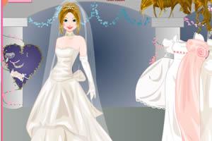 婚礼装扮新娘