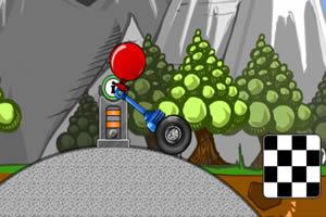 气球独轮车