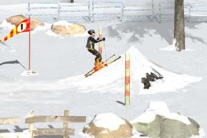 极限花式滑雪