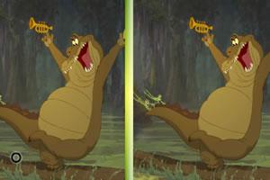 青蛙王子找不同