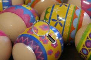 彩蛋上找数字