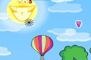 升空的热气球