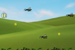 飞行的小黄蜂