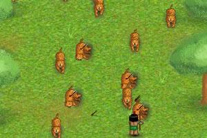 印第安人猎花豹