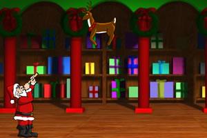 圣诞老人射圣诞鹿