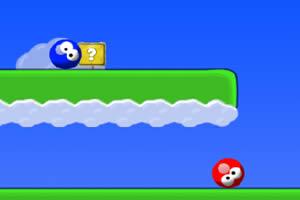 红球引导蓝球