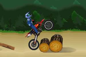 挑战越野摩托