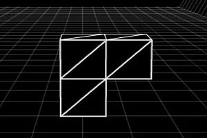 立体方块巧穿墙