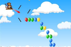 小猴子戳气球7