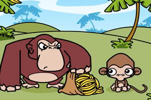 小猴偷香蕉