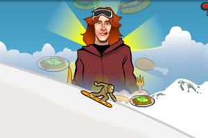 滑雪狂吃记
