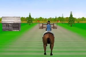 女孩骑马2