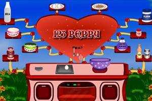 制作爱情甜饼