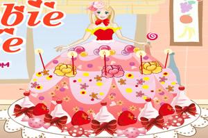 芭比娃娃裙蛋糕