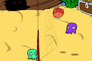 怪物沙滩排球