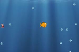 小鱼吃鱼饵