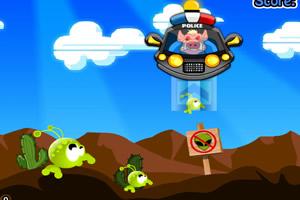 猪猪空中巡逻