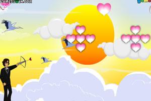 弓箭射气球