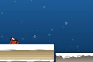 圣诞老人滑雪撬