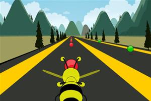 蜜蜂收集彩球