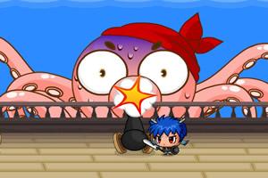 小王子和鱿鱼大王之战