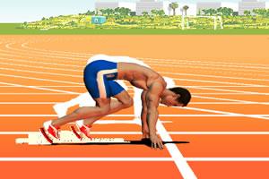 40米短跑
