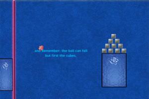 小球摧毁墙壁