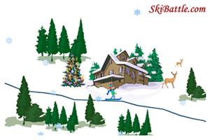 自制滑雪场