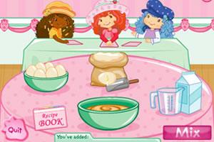 皮卡堂草莓蛋糕床_草莓妹妹做蛋糕,草莓妹妹做蛋糕小游戏,4399小游戏 www.4399.com