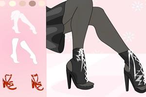时尚美腿秀
