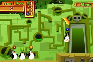疯狂企鹅之污染解决方案