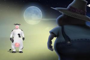 抓住奶牛偷车贼