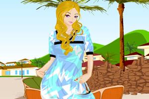 夏天可爱裙装