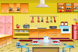 洁净小厨房