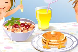 丰盛的早餐