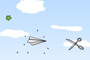 纸飞机的奔袭