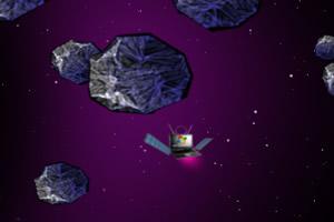 卫星躲避陨石