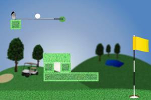 绿色高尔夫