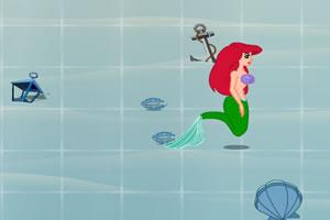美人鱼吃珍珠