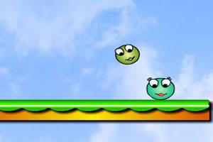 跳跃青蛙球