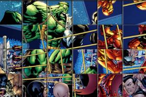 超级绿巨人拼图
