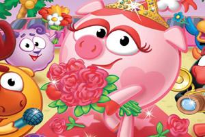 拼出可爱小猪