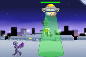 机器人与飞碟大战