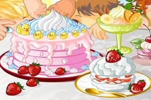 制作诱人蛋糕