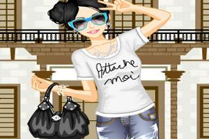 夏季时尚女孩