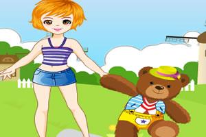 我和泰迪熊
