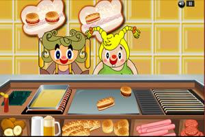 经营开心汉堡店